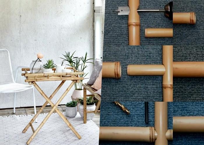 14 Крутых идей мебели из бамбука и способы соединения стволов