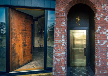 22 Идеи фантастических входных дверей из металла