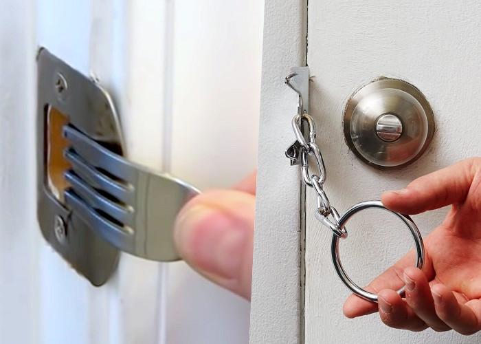 8 Блестящих способов запереть дверь без замка