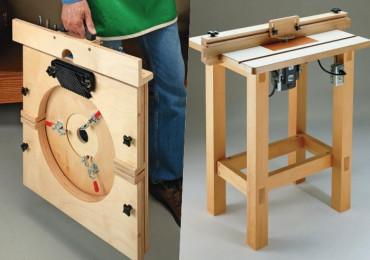 13 Бесплатных проектов и идей изготовления стола для фрезера