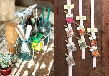 35 Идей хранения садового инвентаря, которые остановят хаос