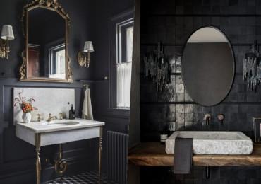 28 Ванных комнат в стиле Moody, которые впечатляют и вдохновляют
