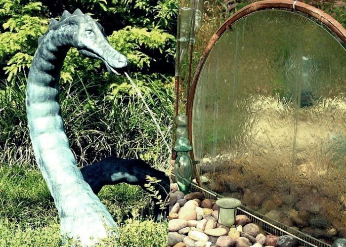 45 Безмятежных водопадов и фонтанов в саду, настала их минута славы