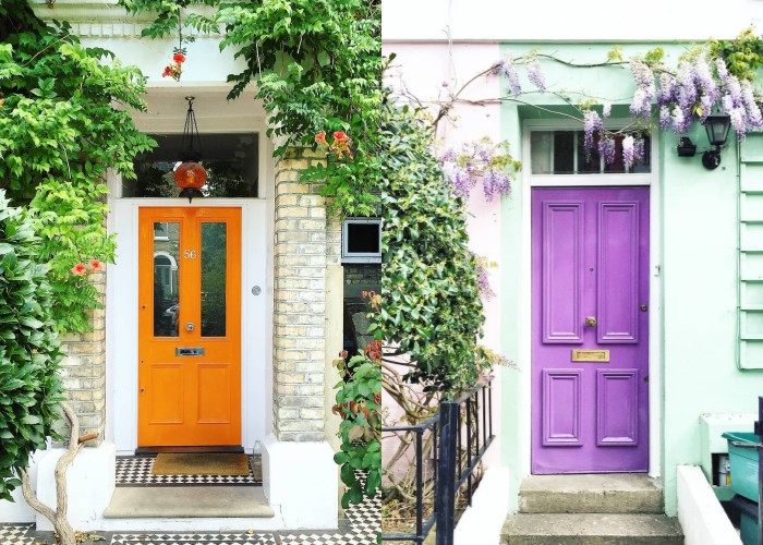 Эта девушка фотографирует самые красивые двери Лондона, и они выглядят будто с открытки