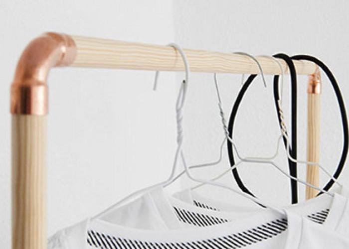 Как сделать вешалку в скандинавском стиле