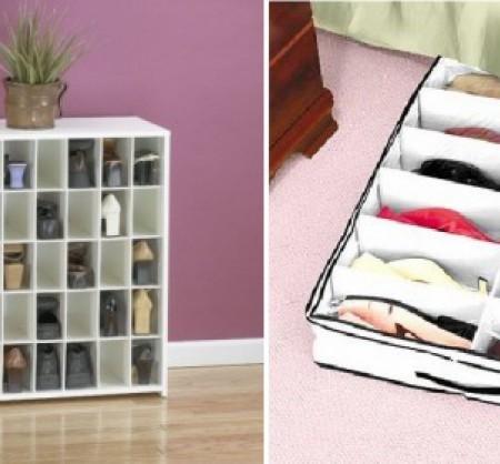 Идеи для хранения обуви {идея}