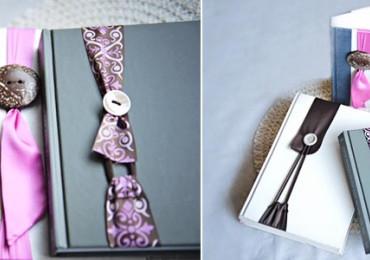 Как сделать закладки для книг из ткани
